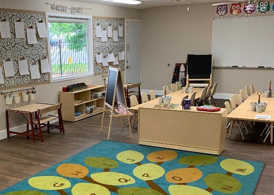 colorful classroom at a Preschool & Daycare Serving El Cajon, Lakeside and Santee CA