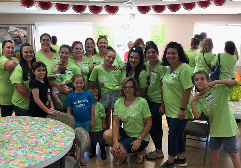 happy teachers and children at a Preschool & Daycare Serving El Cajon, Lakeside and Santee CA